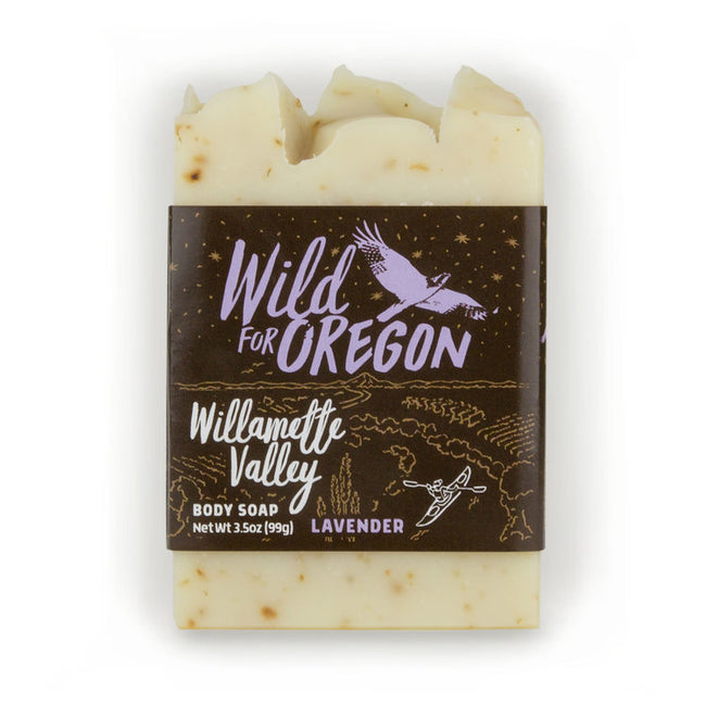Wild For Oregon Willamette Valley Lavender Bar Soap