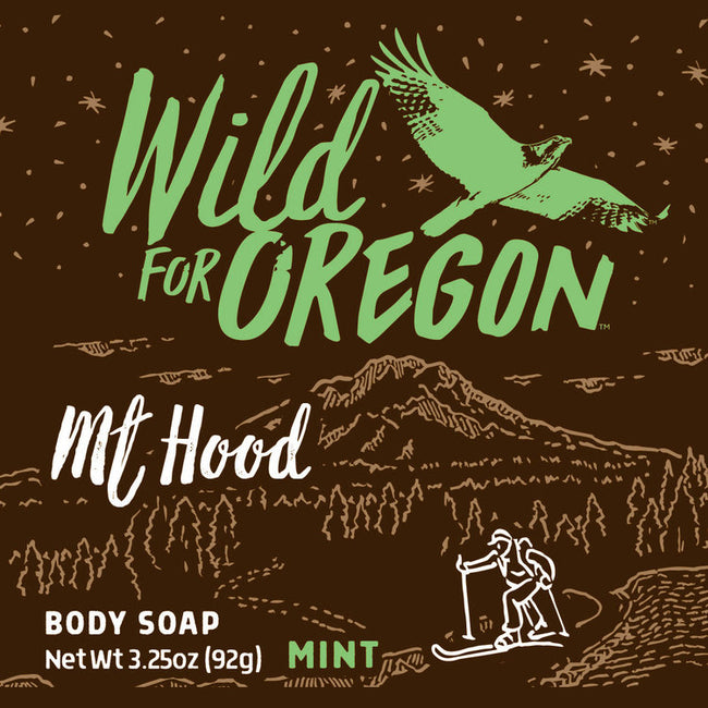 Wild For Oregon Mt. Hood Mint Bar Soap