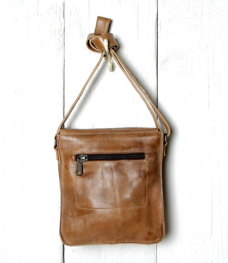 Bed|Stu Venice Beach Cross Body Tan Rustic