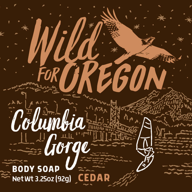 Wild For Oregon Columbia Gorge Cedar Bar Soap