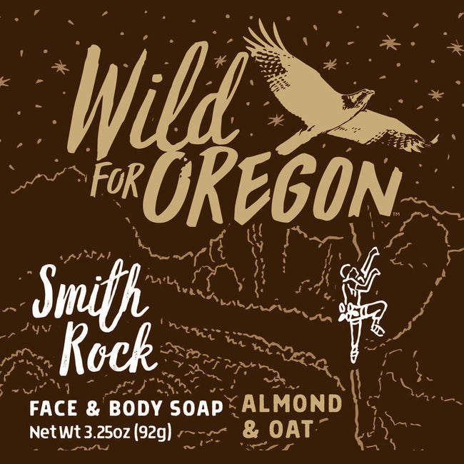 Wild For Oregon Smith Rock Almond & Oat Bar Soap