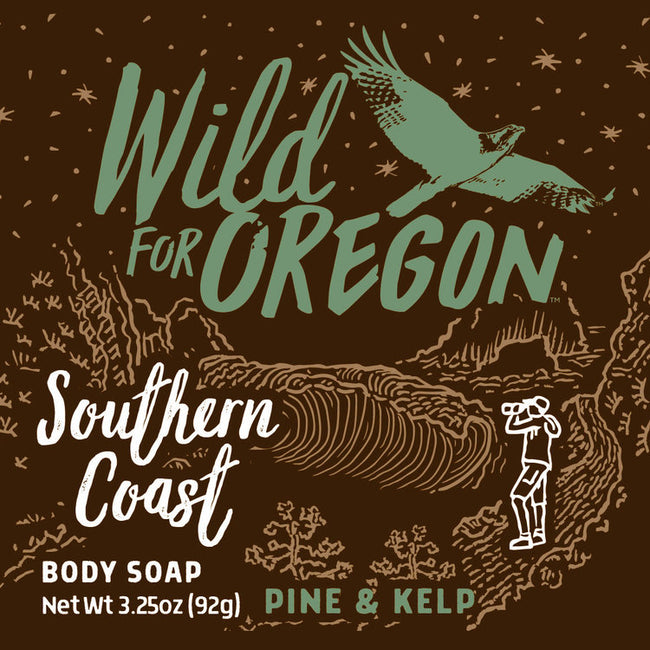 Wild For Oregon Southern Coast Pine & Kelp Bar Soap