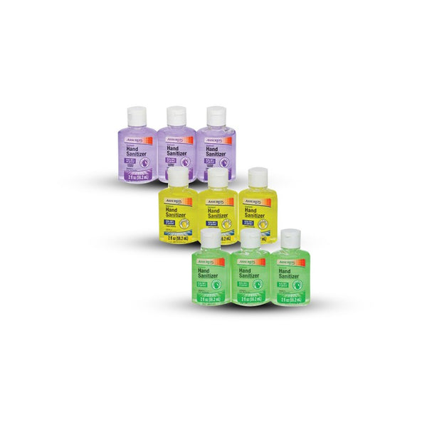 Assured Travel-Size Hand Sanitizers In Assorted Scents, 3-Ct. Packs