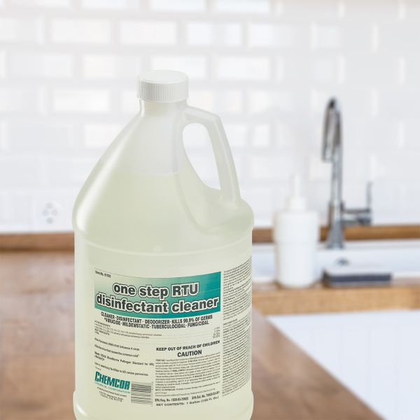 Total Clean One Step Ready To Use Disinfectant Cleaner, 1 Gallon (Case of 4)