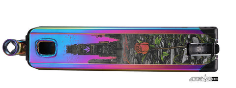 ENVY AOSV4 LTD JON REYES DECK - OIL SLICK