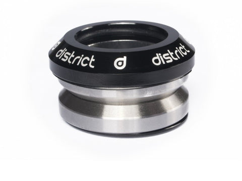 District headset integrated black custom scooters