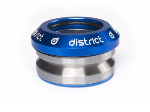 District headset integrated blue custom scooters