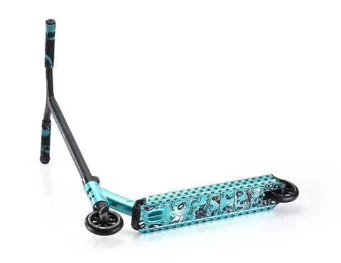 envy colt series 4 teal base view custom scooters