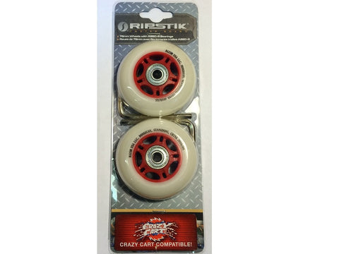 Crazy Cart and Razor RipStik 76mm Wheels
