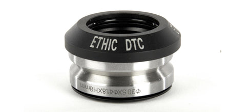 Ethic headset black custom scooters