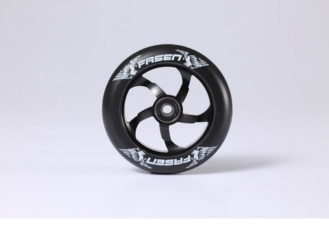 2015 Fasen Black 110mm Metal Core Wheels (Pair)