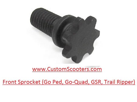 Front Sprocket (Go Ped, Go-Quad, GSR, Trail Ripper)