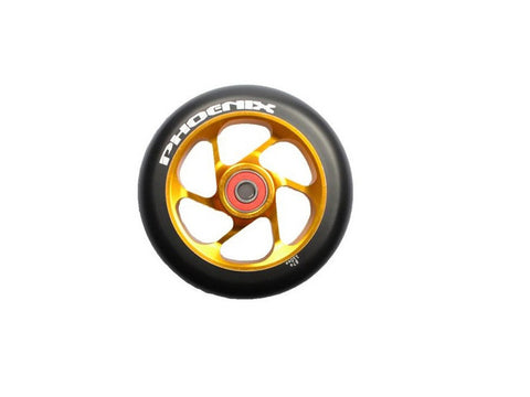 Gold Phoenix 6 Spoke Wheel