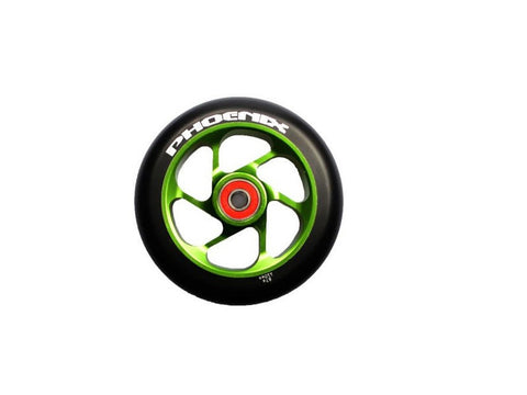 Green Phoenix 6 Spoke Wheel