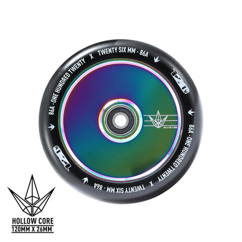 Envy 120mm Wheels Hollow Core Neochrome Oil Slick