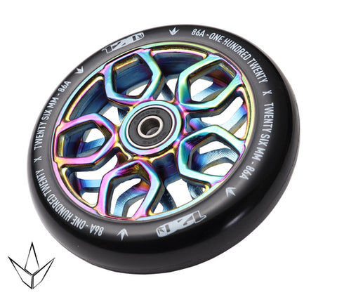 Envy 120mm Wheels Lambo Oil Slick