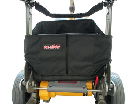 Luggie Under Seat Foldable Basket Rear View