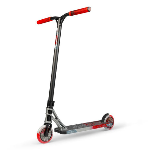 madd gear scooter team silver/red butanol