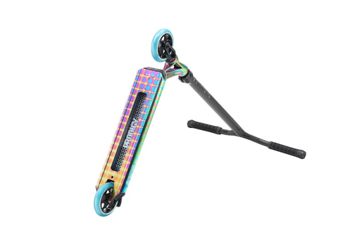Prodigy S8 Oil Slick-Pyramid custom scooters