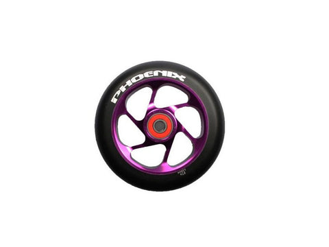 Purple Phoenix 6 Spoke Wheel