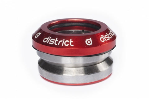 District headset integrated red custom scooters
