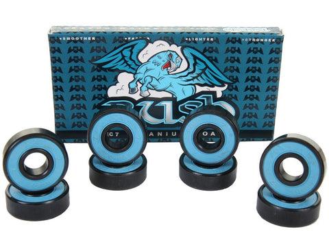 Rush Abec 7 Titanium Coated Bearting 4pk