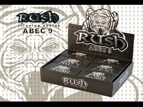 Rush Abec 9 Titanium Coated Bearings 4pk Box
