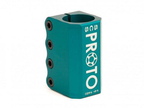 Teal Proto Baby SCS Clamp