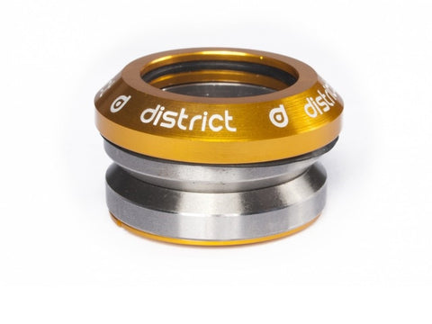 District headset integrated gold custom scooters
