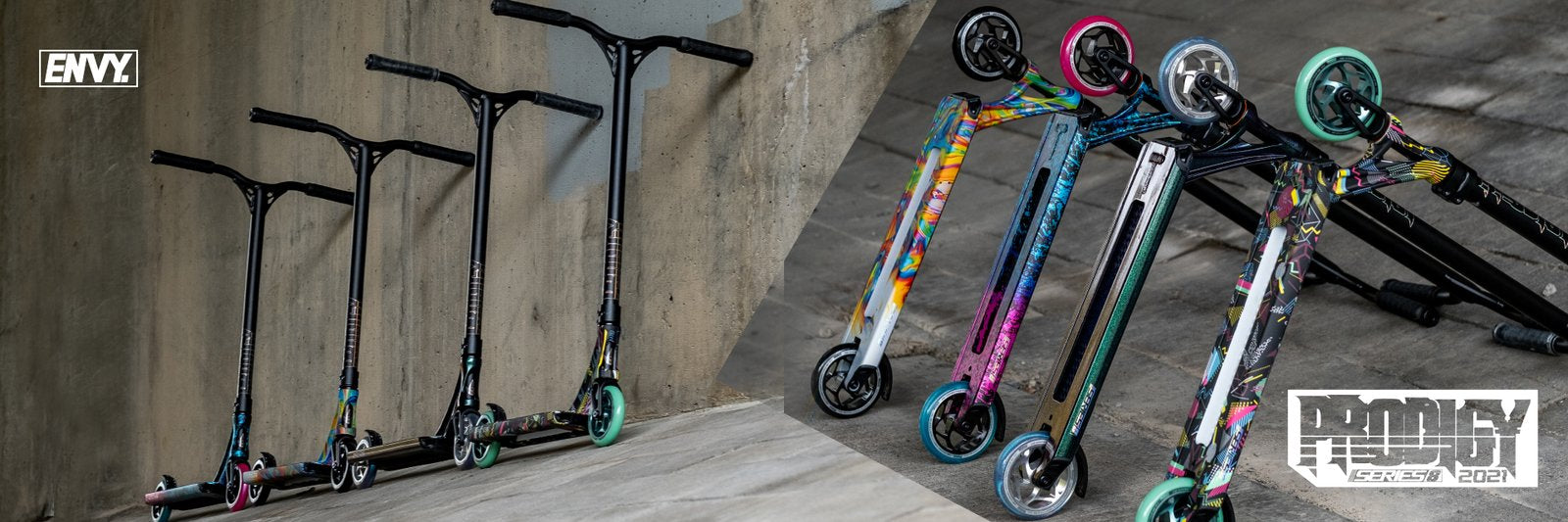 envy prodigy street edition series8 custom scooters