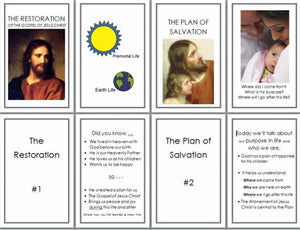 Teach My Gospel Missionary Training Card Sets