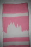 Salt Lake City Temple Socks - Pink