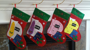 NEW! Classic Missionary Stocking