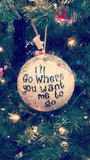 Missionary Christmas Globe Ornament