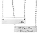Days to Serve Women's Bar Necklace (548 or 730)