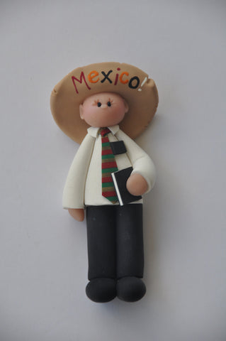 Sombrero Elder Christmas Ornament
