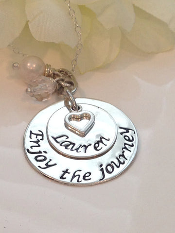 Enjoy the Journey Necklace - Customized