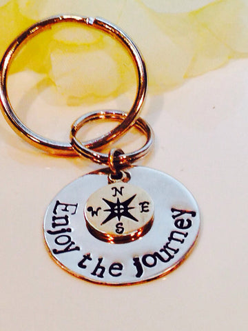 Enjoy the Journey Key Chain