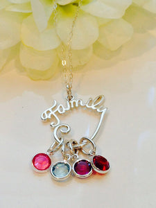 Family Necklace - Customized