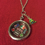 Custom Flag Floating Charm (No locket - 1 charm only)
