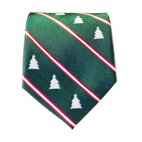 Green Christmas Tie