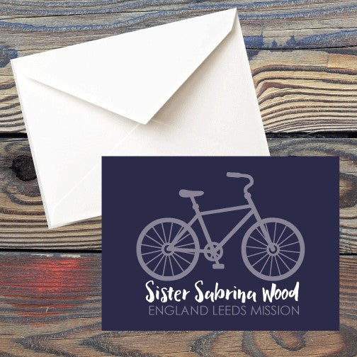 Missionary Stationery - Folded Card Style