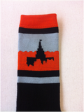 Idaho Falls Temple Socks - Orange