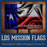 LDS MISSION FLAGS