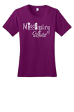 Youth Size Missionary Sister T-shirt with White logo