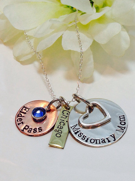 Missionary Mom Necklace - Customized