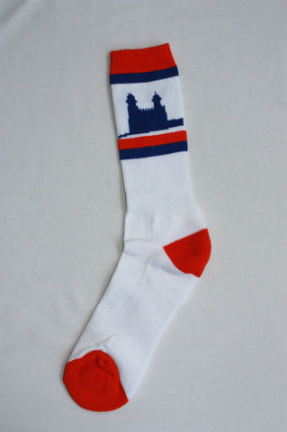 Manti Temple Socks - White