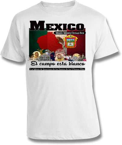 Mexico Mexico City South Mission Shirt