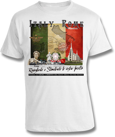 Italy Rome Mission Shirt