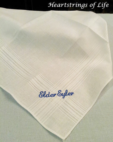 Missionary Handkerchiefs - Personalized